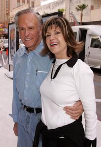 Robert Culp and his wife Candace Faulkner at the premiere of