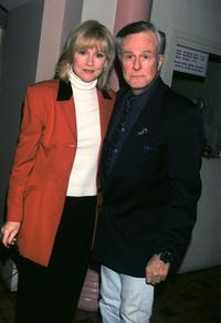Robert Culp and his wife at the cabaret opening of