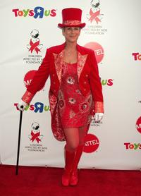 Jamie Lee Curtis at the AIDS Foundation Dream Halloween Fundraiser.