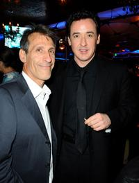Michael Lynton and John Cusack at the after party of the California premiere of