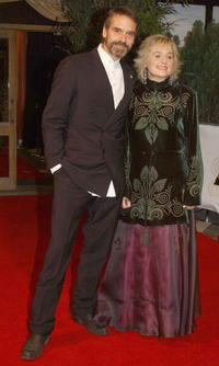 Sinead Cusack and Jeremy Irons at the Irish Film And Television Awards.
