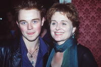 Sinead Cusack and Matthew Newton at the Sydney premiere of