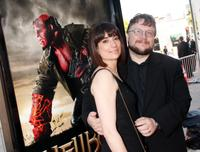 Guillermo del Toro and Guest at the world premiere of