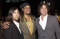 Jason Schwartzman, Jacques Thelemaque and David O. Russell at the