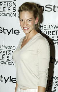 Hilary Swank at the In Style Party in Toronto, Canada.