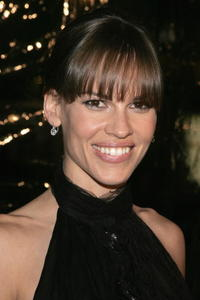 "Hilary Swank at the premiere of ""Freedom Writers"" in Westwood, California."