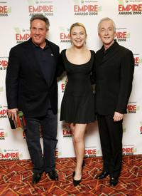 Rick McCallum, Sophia Myles and Anthony Daniels at the Sony Ericsson Empire Film Awards 2006.