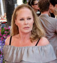 Ursula Andress at the premiere of