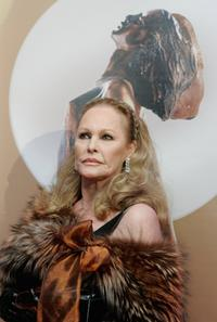Ursula Andress at the ceremony of the Diva Awards 2007.