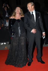 Ursula Andress and guest at the Rome Film festival.