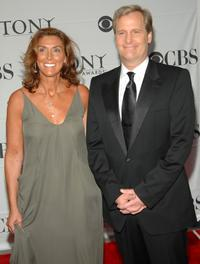 Jeff Daniels and wife Kathleen Treadoat the 61st Annual Tony Awards.