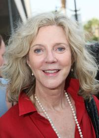 Blythe Danner at the Award Of Excellence Star presentation for the Screen Actors Guild.