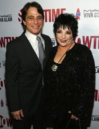 Tony Danza and Liza Minnelli at the Showtime & Broadway Cares/Equity Fights AIDS Presents Liza With A
