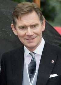 Anthony Andrews at the Sir David Frost's Summer Party.