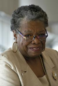 A File Photo of Maya Angelou, Dated June 28, 2003.