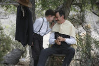 Dillion Freasier and Daniel Day-Lewis in