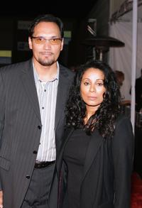 Jimmy Smitts and Wanda De Jesus at the Macy's Passport 2006 Gala and Fashion show.