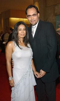 Wanda De Jesus and Jimmy Smits at the 18th Annual Imagen Awards.