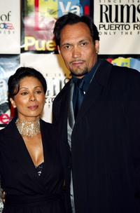 Wanda De Jesus and Jimmy Smits at the benefit concert to honor the life and music of Tito Puente.