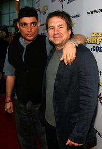 Michael de Lorenzo and John Melendez at the National Lampoon premiere of