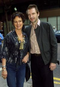 Francesca Annis and Ralph Fiennes at the UK Charity Premiere of her documentary