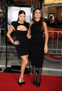 Stacy Ferguson and Penelope Cruz at the California premiere of