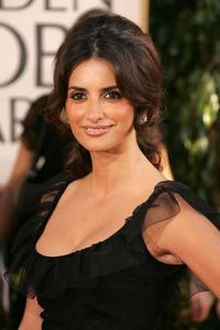Penelope Cruz at the 64th Annual Golden Globe Awards.