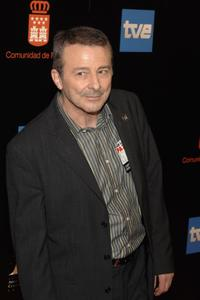 Juan Diego at the Goya Awards Nomination Gala.