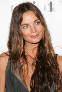 Gabrielle Anwar at the New York premiere of Showtime's