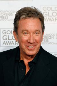Tim Allen at the 64th Annual Golden Globe Awards.