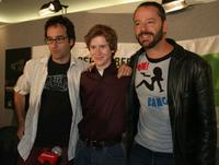 Don Mckellar, Mark Rendal and Gil Bellows at the press conference of
