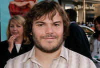 """Jack Black at the premiere of """"Nacho Libre"""" in Hollywood."""