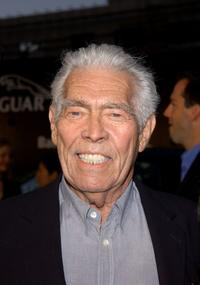 James Coburn at the opening of the Andy Warhol Retrospective at the Museum of Contemporary Art.
