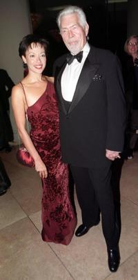 James Coburn and his wife Paula at the Art Directors Guilds Fourth Annual Excellence in Production Design Awards.