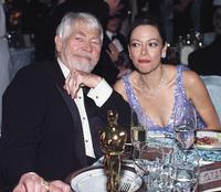 James Coburn and his wife Paula at the overnors Ball.