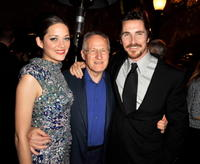 Marion Cotillard, Director Michael Mann and Christian Bale at the after party of the premiere of