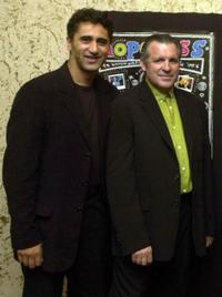 Cliff Curtis and Larry Parr at the premiere of