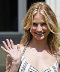 Cameron Diaz at Germany for the promotion of