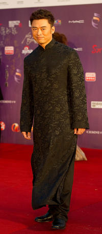 Fan Siu-Wong at the 29th Hong Kong Film Awards.