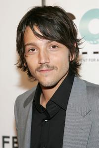 Diego Luna at the 2007 Tribeca Film Festival for the opening night of