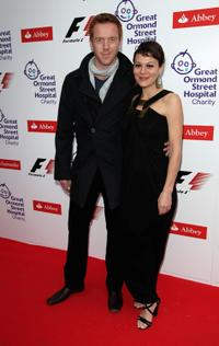 Damian Lewis and Helen McCrory at the F1 Charity Party in aid of Great Ormond Street Hospital.