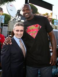 Shaquille O'Neal and Guest at the premiere of