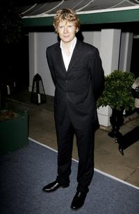 Julian Rhind-Tutt at the Casino Royale after party.