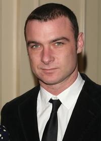 Liev Schreiber at the New York Film Critics Dinner.