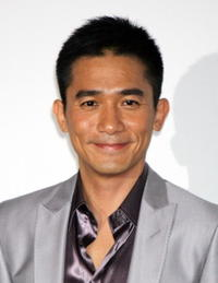 """Tony Leung at the promotion for the film """"Confession of Pain"""" in Tokyo, Japan."""