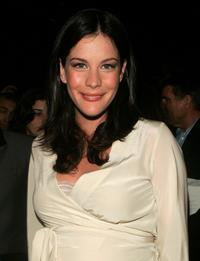 Liv Tyler at the Marc Jacobs show during the Olympus Fashion Week Spring 2005.