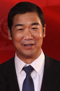 Zhang Guoli at the opening ceremony of 14th Shanghai International Film Festival in China.