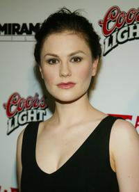 Anna Paquin at the NY premiere of