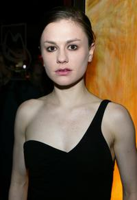 Anna Paquin at the NY opening of