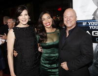 Michelle Monaghan, Rosario Dawson and Michael Chiklis at the premiere of